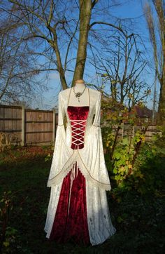 Medieval Wedding Gown Dress