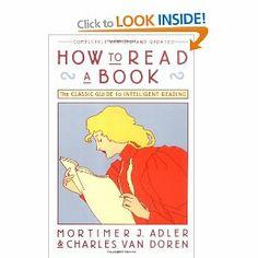 How to Read a Book: Amazon.ca: Mortimer J. Adler, Charles Van Doren: Books
