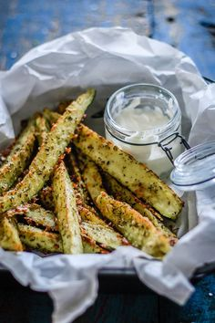 zucchini parmesan sticks - easy, healthy snack
