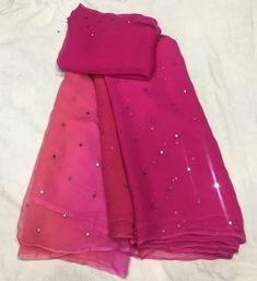 Pure Chiffon Saree with Mirror Work Crepe Saree, Organza Saree, Chiffon Saree, Georgette Sarees, Net Saree, Pink Saree Silk, Mirror Work Saree, Designer Blouse Patterns, Design Patterns