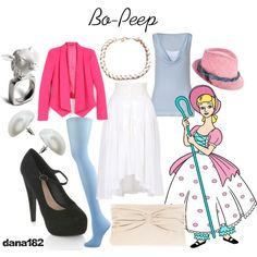 Bo-Peep, created by dana182 on Polyvore