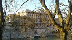 Tiber River. Rome,  Italy