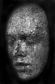 """Dale Dunning, """"Palimpsest"""", aluminum"""