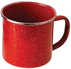 GSI Outdoors 4208 Red Stainless Steel Rim Enamelware Cup * Find out more details by clicking the image : Camping Supplies Camping Packing, Camping Checklist, Camping Essentials, Camping Hacks, Camping Gear, Camping Life, Campsite, Camping Cups, Camping Dishes