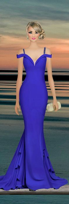 Over the Sea Fashion Dress Up Games, Covet Fashion Games, Fashion Dresses, Diva Fashion, Fashion Dolls, Classy Outfits, Chic Outfits, Award Show Dresses, Dinner Gowns