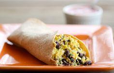 Southwestern Protein Breakfast Burrito