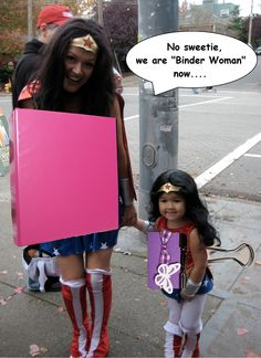Binder Woman… and Binder Clip