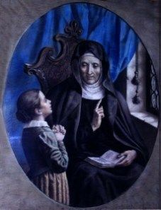 "St Angela Merceri was the founder of the Ursuline sisters, and of the first Religious school for women!     theFeast Day: January 27 Canonized: May 24, 1807 Beatified: April 30, 1768 Would you ever say ""no"" to the pope? Probably not, unless you thought a higher power than the pope was calling you. Angela Me…"