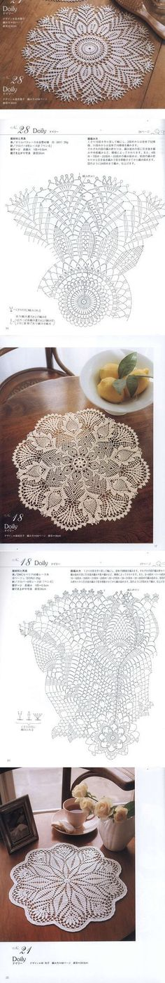 Learn to knit and Crochet with Jeanette: Patterns of crochet doilies. Filet Crochet, Crochet Doily Diagram, Crochet Doily Patterns, Thread Crochet, Irish Crochet, Crochet Motif, Crochet Designs, Crochet Home, Crochet Crafts