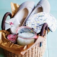 Spa gift basket!