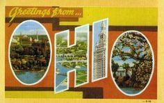 Todos os tamanhos | Greetings from Ohio - Large Letter Postcard | Flickr – Compartilhamento de fotos!