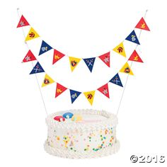 Knight's Kingdom Cake Bunting