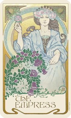 Ethereal Visions: An Illuminated Tarot Deck - Art Nouveau by Matt Hughes — Kickstarter