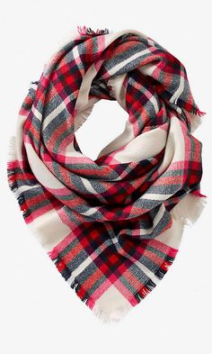 PLAID BLANKET SCARF from EXPRESS from EXPRESS