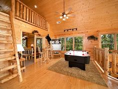 lucky break is a premium 2 bedroom pigeon forge cabin featuring