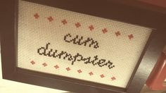 This lovely sentiment. | 21 Delightfully Sweary Cross Stitches You Need In Your Life