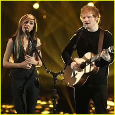 Christina Grimmie & Ed Sheeran Perform on 'The Voice' Finale – Watch Now Christina Grimme, Tiny Tina, Dumb People, Angels In Heaven, Ed Sheeran, Best Memories, Music Is Life, Antisocial Quotes, Famous People