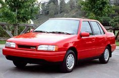 Check out this 1986 #Hyundai Excel for #ThrowbackThursday #TBT