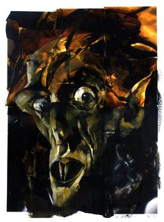 Dave McKean is one of my favorite comic book and graphic novel artists. Here is his take on Nosferatu.