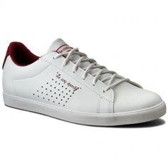 Sneakers LE COQ SPORTIF - Agate Lo Feminine 1710317 Optical White/Ruby Wine