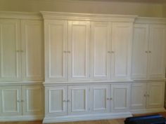 dragged and varnished Smallbones painted wardrobe by Mark Nash Traditional painter London