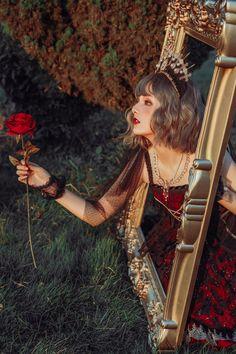 Miracles -The Siren- Gothic Lolita Jumper Dress,lady bia mida lolita Fantasy Photography, Girl Photography, Creative Photography, Fashion Photography, Princess Aesthetic, Aesthetic Girl, Art Visage, Princess Costumes, Foto Art
