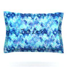 KESS InHouse C'est La Vie Revisited by Ebi Emporium Featherweight Pillow Sham Size: