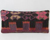 kilim pillow case western unique pillow case antique cushion cover antique pillow cover knitting pillow cover decorative pillow case 26537