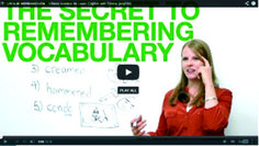 The secret to remembering vocabulary · engVid English Words, English Lessons, Learn English, English Language Learners, English Vocabulary, Increase Vocabulary, Listen And Speak, Middle School Reading, Reading Resources