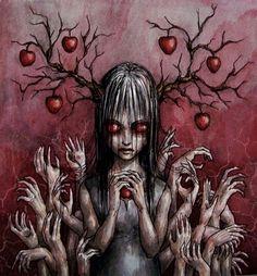 Apple tree by DieWolfsseele