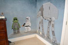 You're Art by Corie Kline: Star Wars Mural