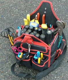 Modified Tool Bags - Electrician Talk - Professional Electrical Contractors Forum
