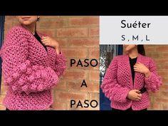 Crochet Videos, Crochet Cardigan, Sweaters, Mary, Fashion, Crochet Coat, Crochet Batwing Tops, Nightgown, Step By Step