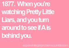 Super White Girl Problems 1877. I'm always freaked out after i watch it!