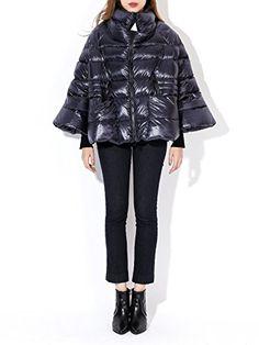 Moncler Women's Padded Flared Sleeve Jacket at Amazon Women's Coats Shop