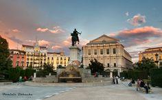 Plaza de Oriente, Teatro Real, Madrid, Spain