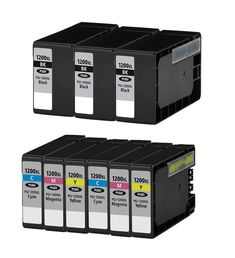 Buy PGI1200XL Ink Cartridge 9PK - 3B/2CMY for Canon at Houseoftoners.com. We offer to save 30-70% on ink and toner cartridges. 100% Satisfaction Guarantee.