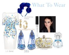 """""""What To Wear: Themed Dinner party"""" by glamchicq8 on Polyvore featuring Dolce&Gabbana, L.K.Bennett, Charter Club, Alexander McQueen and Vince Camuto"""