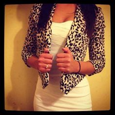 Cheetah print jacket, Fashion