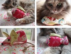 Catnip Cat Toys and Lavender Hearts - Find out more what Cat Toys is for your cats at catsincare.com!