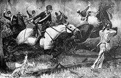 The Battle of Fallen Timbers (August 20, 1794) was the final battle of the Northwest Indian War, a struggle between American Indian tribes affiliated with the Western Confederacy and the United States for control of the Northwest Territory (an area bounded on the south by the Ohio River, on the west by the Mississippi River, and on the northeast by the Great Lakes). The battle, which was a decisive victory for the United States, ended major hostilities in the region
