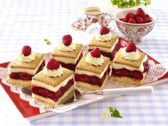 Himbeerkuchen – rosa-rote Kuchenträume - himbeer-keks-kuchen