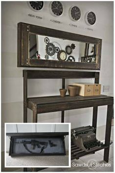 Mirror Gun Case (secret Compartment)