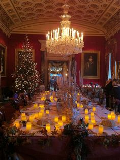 banquet at Chatsworth