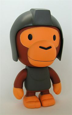 nigo's bape (bathing ape) milo vinyl figure | Flickr - Photo Sharing!