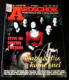 Aardschok Nr.12 December 2001 | Music magazines | Disc-records