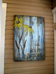"Sunshine Blessings ideas~""Hattie's Vintage Crafts""~"