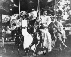 1910s edwardian merry-go-round