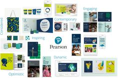 Reviewed: New Logo and Identity for Pearson by Freemavens and Together Design