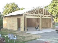 How to build your own 24 X 24 Garage and save money. Step by Step Build Instruct… How to build your own 24 X 24 Garage and save money. Step by Step Build Instructions Plan Garage, Garage Shed, Garage Art, Detached Garage Plans, Garage Workshop Plans, Jeep Garage, Garage Shop Plans, Garage Closet, Garage Workbench
